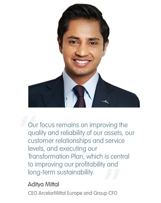 Aditya Mittal, CEO ArcelorMittal Europe and Group CFO